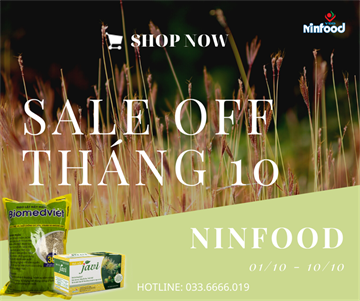 SALE OFF THÁNG 10
